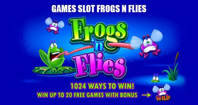 frog n flies